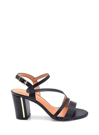 Derimod Kadın Sandalet(7188-073M-Z8) Casual Siyah